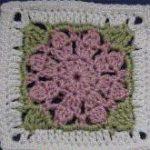 Sparkling Poinsettias Afghan Free Crochet Pattern