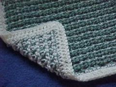 CrochetKim Free Crochet Pattern | Spider Lace Baby Afghan @crochetkim