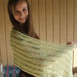 Spring Shawl Free Crochet Pattern
