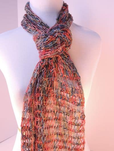 CrochetKim Free Crochet Pattern   Tunisian Drop Stitch Scarf @crochetkim