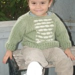Versicolor Baby Pullover Free Crochet Pattern