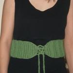 A-Maizing Ribbed Belt Free Crochet Pattern