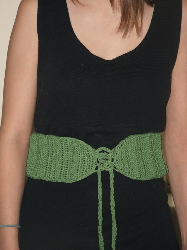 CrochetKim Free Crochet Pattern | AMaizing Ribbed Belt @crochetkim