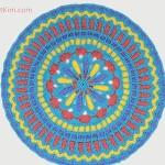 Turquoise Mandala Doily Part 2 Free Crochet Pattern