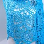 Doubled Pineapples Fling Wrap Free Crochet Pattern