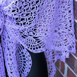 Dreams Shawl Free Crochet Pattern