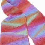 Geo Scarf Free Tunisian Crochet Pattern
