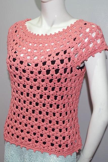 Free Crochet Pattern: Lea Blouse