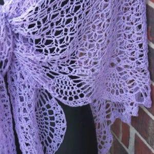 Dreams Shawl CrochetKim Free Crochet Pattern
