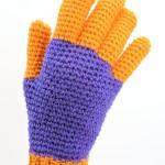 Jersey Gloves Free Crochet Pattern
