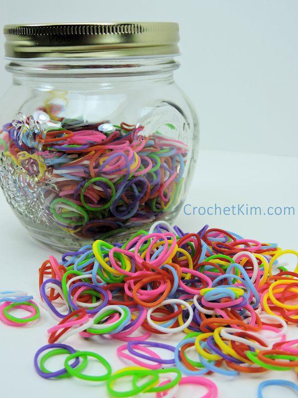 CrochetKim Free Crochet Pattern | Stretchy Bracelets @crochetkim