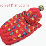 Circus Love Baby Hat Free Crochet Pattern