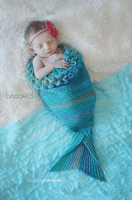 Free Crochet Pattern: Mystic Mermaid Cocoon
