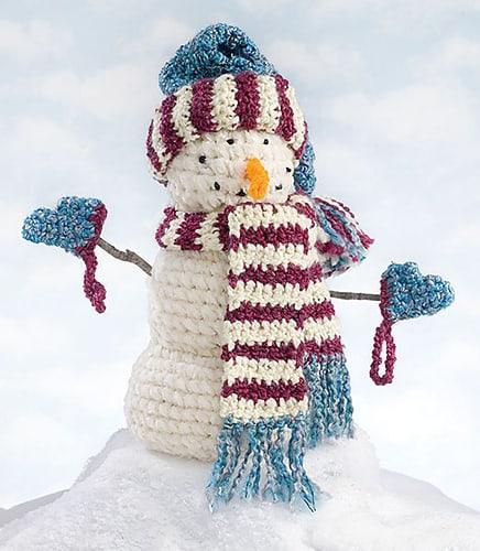 Free Crochet Pattern: Snowman
