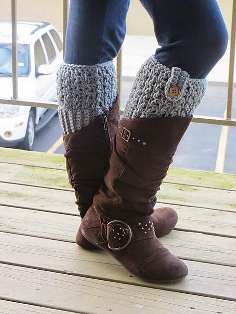 Free Crochet Pattern: Bailey Boot Cuffs