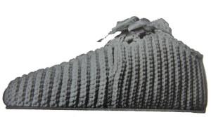 Vintage: Blucher Slipper Free Crochet Pattern