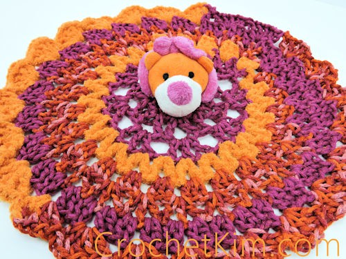 CrochetKim Free Crochet Pattern | Lion Comfort Toy @crochetkim
