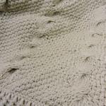 Nautical Waves Throw Free Tunisian Crochet Pattern