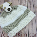 Easy Puppy Topper Beanie Free Crochet Pattern for Beginners
