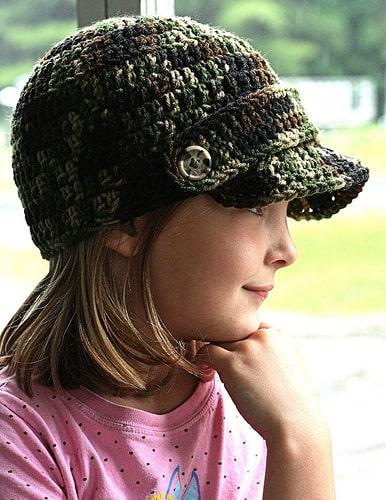 Free Crochet Pattern: Meagan's Brimmed Beanie