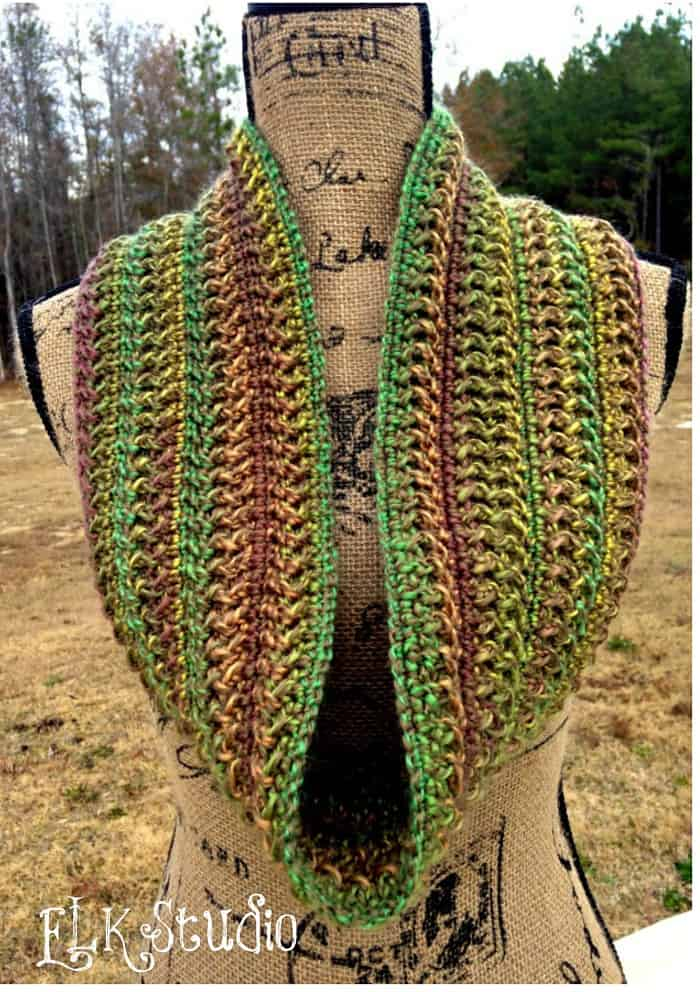 Free Crochet Pattern: Wavy Style Scarf