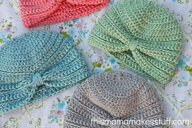 How To Make A Newborn Hat Crochet Quilt Pattern