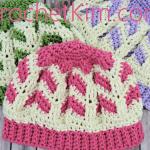 Chocolate Strawberries Redux Free Crochet Pattern