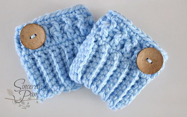 Chunky Boot Cuffs Free Crochet Pattern Crochetkim