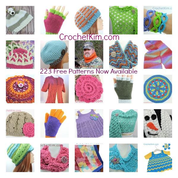 CrochetKim Top Patterns 2015