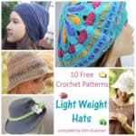 Link Blast: Free Crochet Patterns for Light Weight Hats