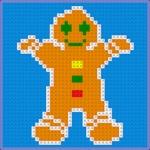 Colorwork Chart: Gingerbread Man | Crochet, Knit, C2C, Graph