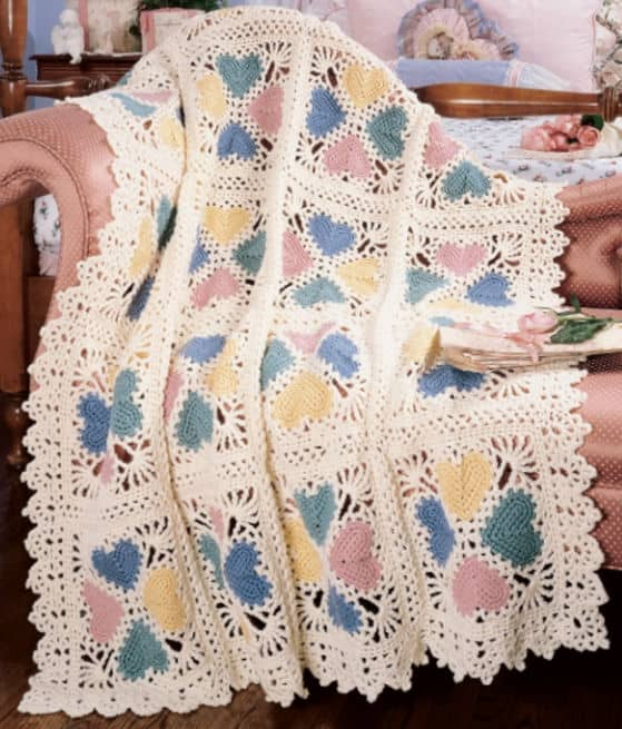 Double Crochet Afghan Patterns Free