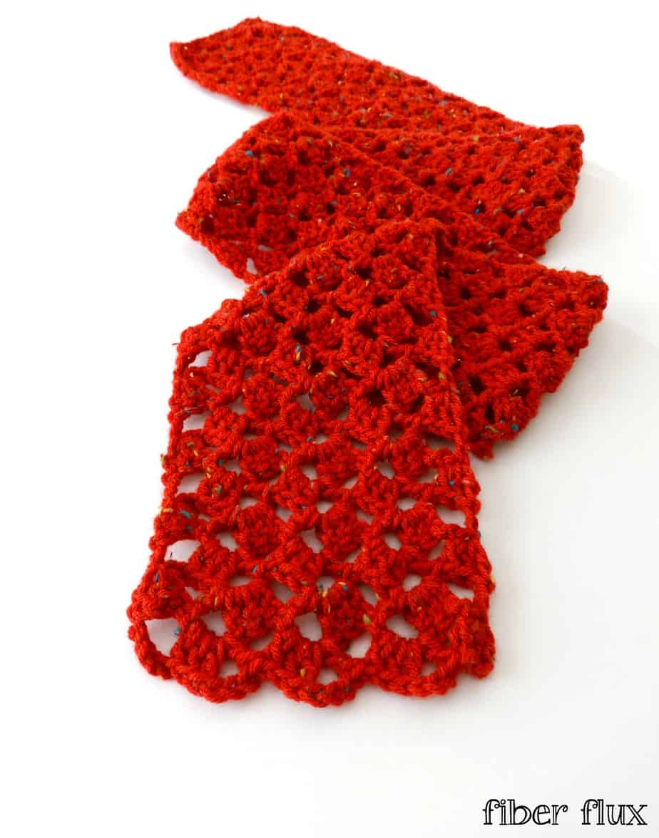 Free Crochet Pattern: Love Notes Scarf