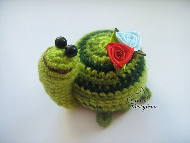 Free Crochet Pattern: Luck Turtle