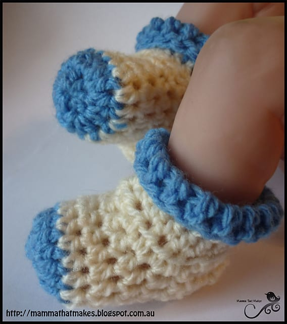 Free Crochet Pattern: Bootie Socks