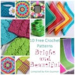 Link Blast: 10 Bright and Beautiful Free Crochet Patterns