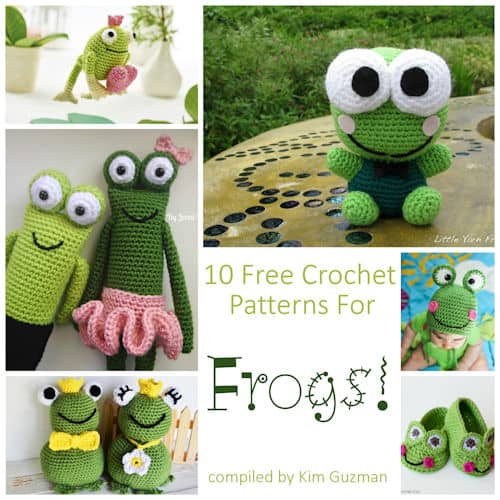 link blast 10 free crochet patterns for frogs. Black Bedroom Furniture Sets. Home Design Ideas