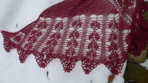 Free Crochet Pattern: Aleatha Shawl