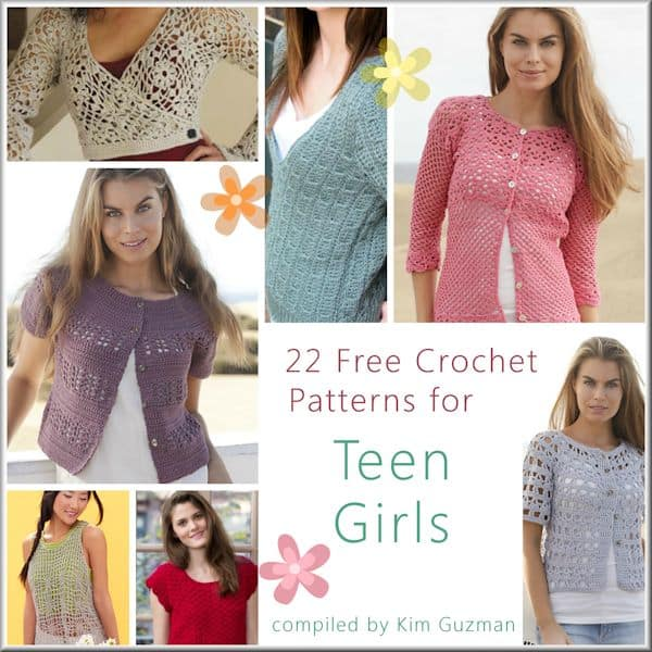 a41a094a94b0 Link Blast  Free Crochet Patterns for Tops for Teen Girls