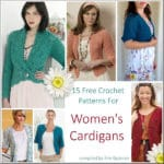 Link Blast: 15 Free Crochet Patterns for Womens Cardigans