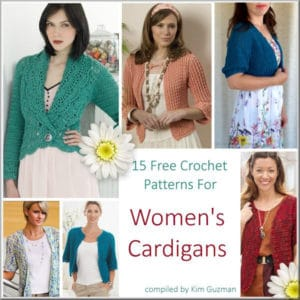 0bfdc75bfa71 Free Crochet Patterns and Free Knit Patterns for Adult Garments ...