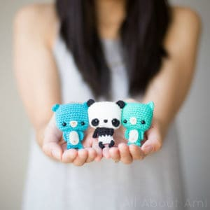 Free Crochet Pattern: Bonbon Bears
