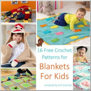 Link Blast: 16 Free Crochet Patterns for Blankets for Kids