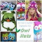 Link Blast: 20 Free Crochet Patterns for Owl Hats