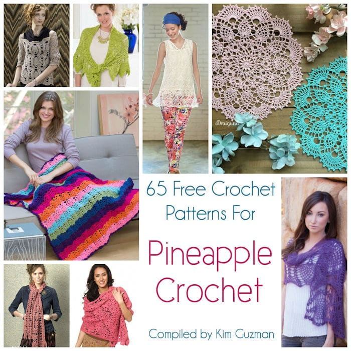 5ba79548f106 Link Blast  65 Free Crochet Patterns for Pineapple Crochet