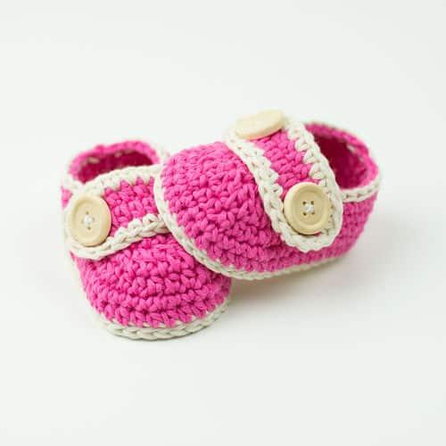 359db3beb Pretty In Pink Baby Booties Free Crochet Pattern