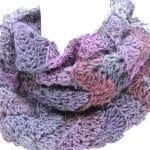 Rockin' the Changes Infinity Scarf Free Crochet Pattern