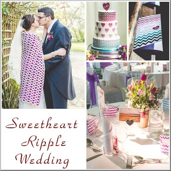 CrochetKim | Sweetheart Ripple Wedding