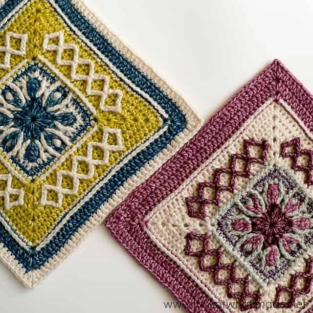 Free Crochet Pattern: Esme's Winter Cottage