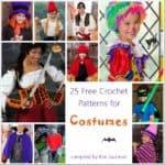 Link Blast: 25 Free Crochet Patterns for Halloween Costumes